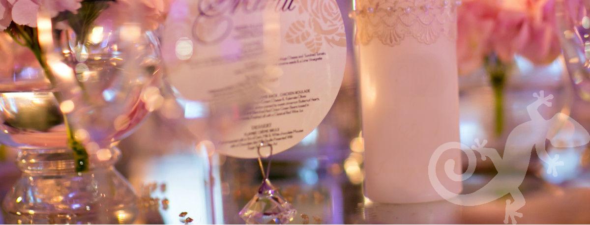 I do...first wedding portfolio,candles, crystal