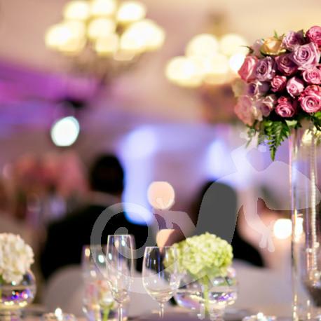 I do...first wedding portfolio,candles, roses and hydrangeas