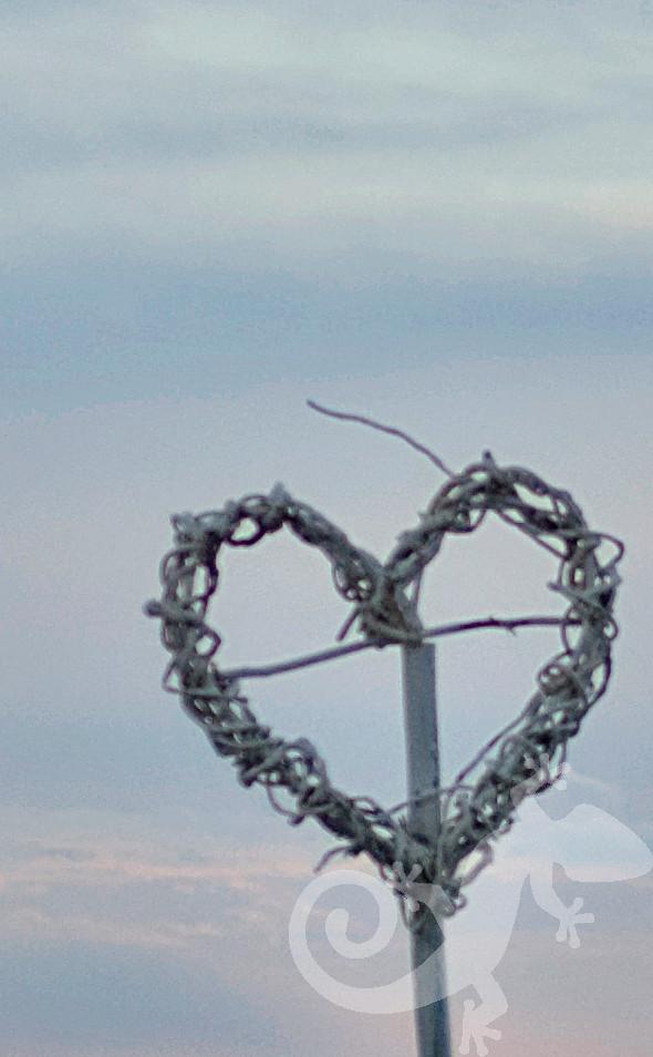 wedding woven heart