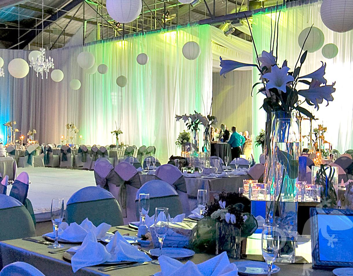 wedding, I do, table decor, menu, glass candle holder