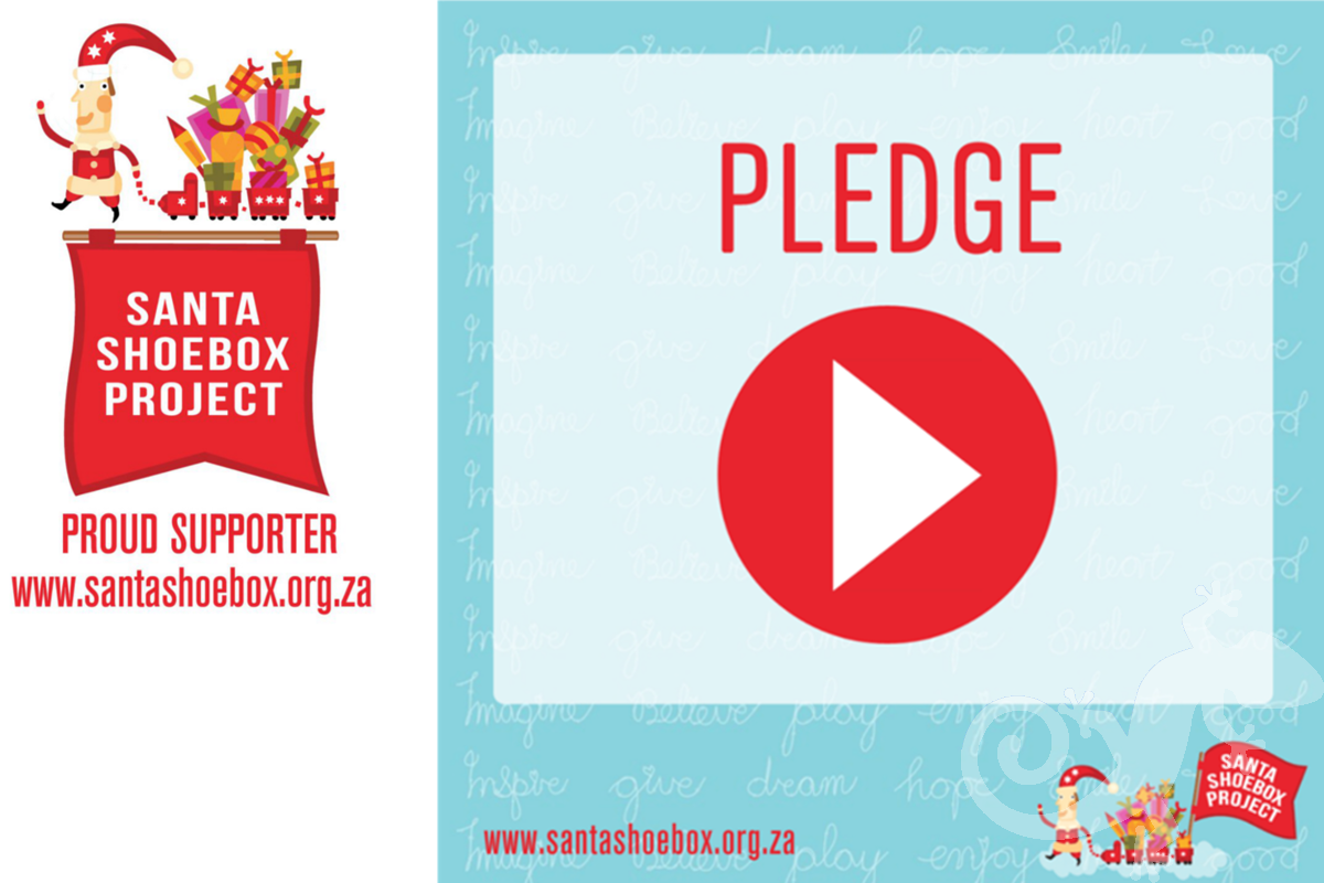 santa shoebox project supporter