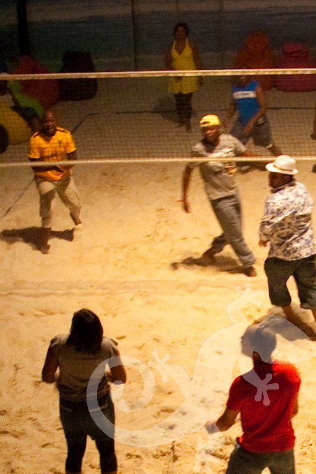 Indoor Beach Party, Corporate, Team Building, volley ball