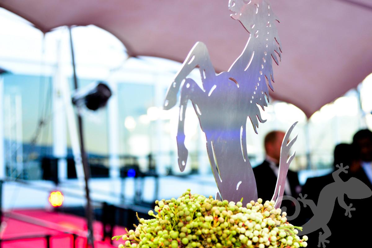 Top Achievers, corporate, steel horse, décor