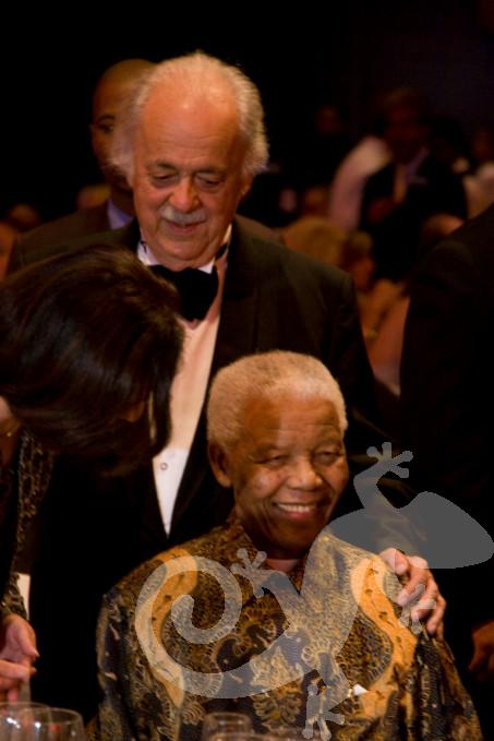 80th Birthday Event George Bizos Nelson Mandela