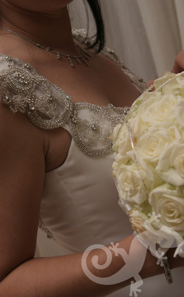 Can you feel it?  wedding elegance, bridal bouquet