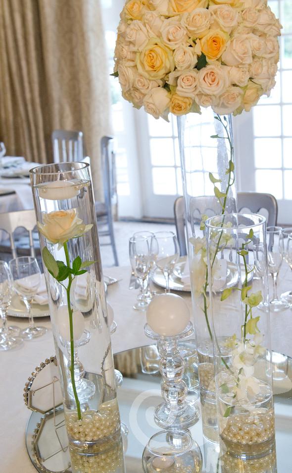 Styling floral creations, designer wedding, Salamander inspiration