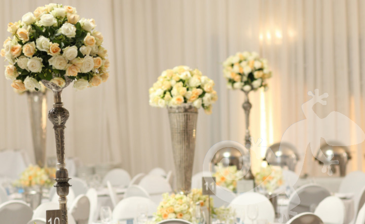 classic elegance, I do, white wedding, roses, style, silverware