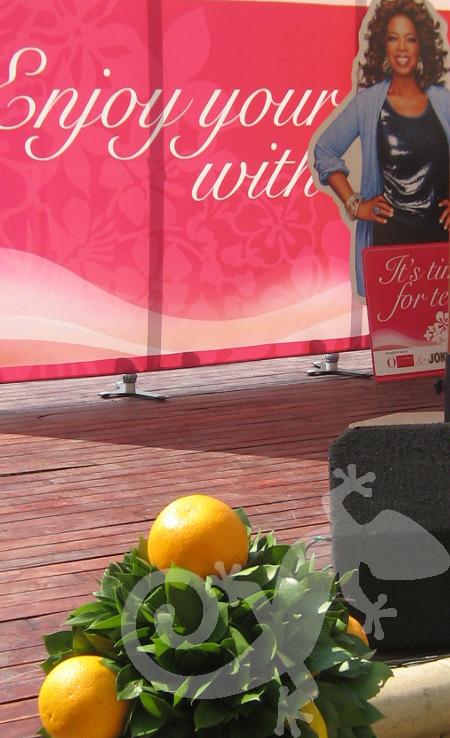 High-tea, Oprah, marketing launch, fresh look