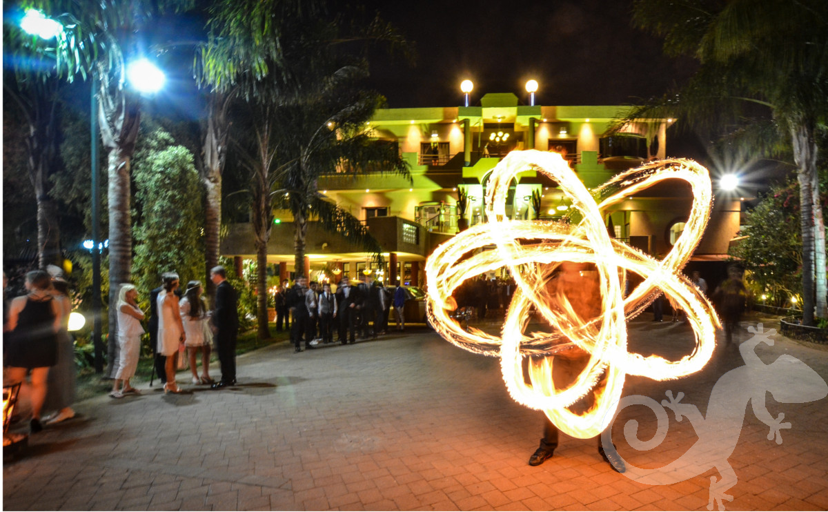 Great Gatsby, sweet 16, fire spinning