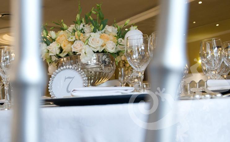 Evening elegance, salamander designer tables